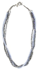 Chan Luu Blue Mix Multi Strand Necklace, NS-10021WEBBLUMIX