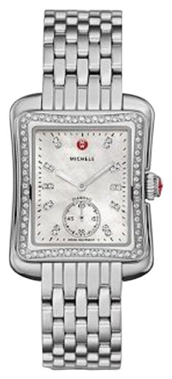 Preload https://item5.tradesy.com/images/michele-silver-mop-deco-moderne-ii-16-diamond-two-tone-diamond-dial-watch-15359524-0-1.jpg?width=440&height=440