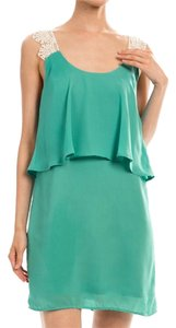 Ava Bella Designs short dress Teal Summer Short Green on Tradesy