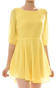 Ava Bella Designs short dress Yellow Summer on Tradesy