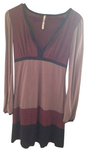 Lucca short dress Brown on Tradesy