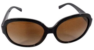 Michael Kors Michael Kors MK6021 Corte Black Frame Sunglasses with Tan Lined Case