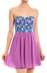 Ava Bella Designs short dress Lavendar Floral Summer on Tradesy