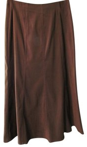 Other White Stag Suede-like Brown Skirt WOODLAND BROWN