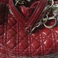 Dior Tote in red Image 10