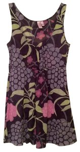 Sweet Pea by Stacy Frati Anthropologie Nylon Top Pink, Lavender, Green