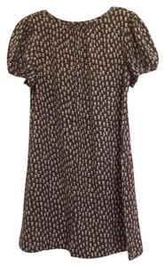 Marc by Marc Jacobs short dress Brown Allover flowers silk/cotton dress on Tradesy