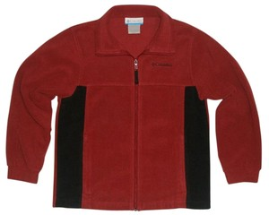 Columbia Brick Red & Black Jacket