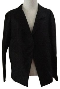 Vera Wang Silk Chic Party Black Blazer
