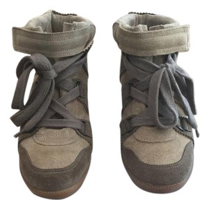 Isabel Marant Tan/Olive Wedges