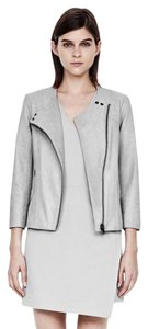 Helmut Lang Vince Rag & Bone Gray Leather Jacket
