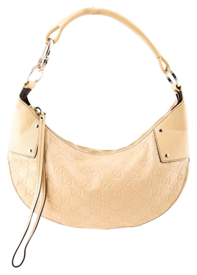 0d3ee06de Gucci * Guccissima Small Yellow Embossed Leather Shoulder Bag - Tradesy