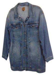 JOE'S Blue denim dress jacket Womens Jean Jacket