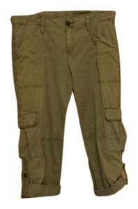 Sanctuary Clothing Cargo Capris Green