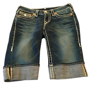 True Religion Bermuda Bermuda Shorts Blue