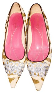 Kate Spade Brown Calf Flats