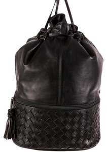Bottega Veneta Lambskin Leather Hobo Bag
