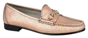 Gucci Womens 1953 Leather Horsebit Loafer Flats