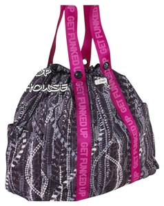 Zumba Fitness Drawstring Gym Fashion Shoulder Bag