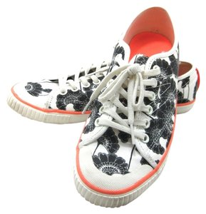 Kate Spade Sneakers Black Orange white Athletic