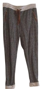 Ci Sono Athletic Pants Charcoal Gray, Heather Gray, Brown