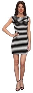 Trina Turk short dress Black/Grey on Tradesy