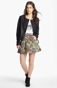 Free People Carpet Bag Circle Mini Skirt
