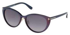 Tom Ford Tom Ford Violet/Gradient Brown Sunglasses FT0345 NWT