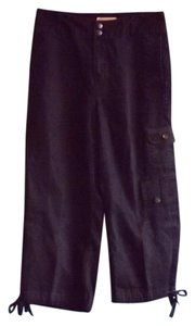 Coldwater Creek Capris Indigo