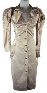Vivienne Westwood Button Down Coat Fitted Dress