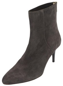 Jimmy Choo 0503610 Almond Toe Pointed Toe Mid Heel Classic Gray Boots