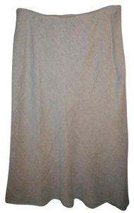 Eileen Fisher Skirt Beige