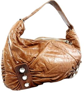 Treesje Studded Shoulder Hobo Bag