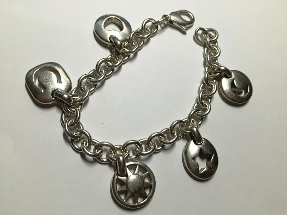 Tiffany Amp Co Silver Stencil Heart Sun Moon Star Horseshoe