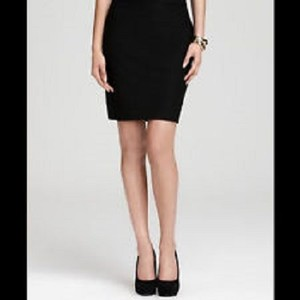 Eileen Fisher Mini Mini Skirt Black