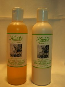 Kiehl's Kiehls Pear Tree Corner; Pear Cleanser & Lotion Set by Kiehl's (each- 250 ml./ 8.4 Fl. Oz.) - [ Roxanne Anjou Closet ]