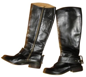 Juicy Couture Equestrian Riding Leather espresso/dark brown Boots