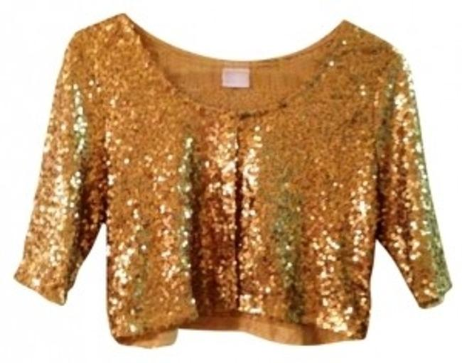 Preload https://img-static.tradesy.com/item/153686/gold-sequin-cardigan-night-out-top-size-8-m-0-0-650-650.jpg
