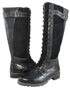 Ariat Distressed Vintage Leather Black Boots