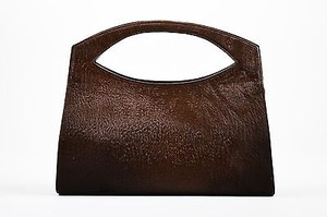 Christian Lacroix Pony Tote in Brown