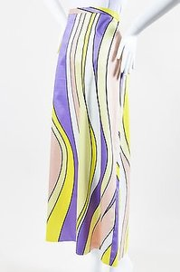 Moschino Cheap And Chic Maxi Skirt Multi-Color