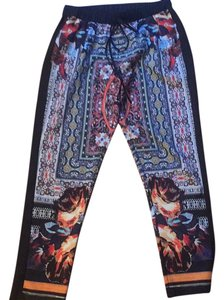 Clover Canyon Relaxed Pants Black/Multi
