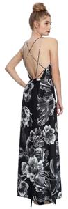 floral black -white Maxi Dress by Keepsake the Label