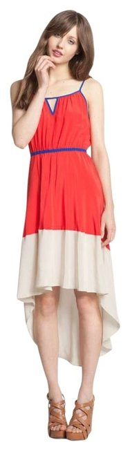 Preload https://item2.tradesy.com/images/willow-and-clay-bright-red-ivory-and-blue-colorblock-asymmetrical-hem-dress525205-high-low-casual-ma-153701-0-0.jpg?width=400&height=650