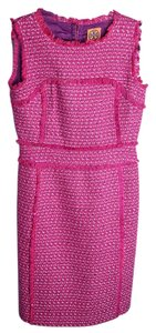 pink Maxi Dress by Tory Burch Tweed