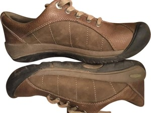 Keen Leather Waterproof Non-marking Anti-slip brown Athletic