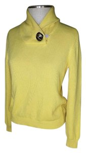 Ralph Lauren Toggle Shawl Neck Sweater