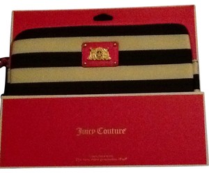 Juicy Couture Black and White BAR STRIPE NEOPRENE IPAD CASE - Manufacturer Style No. YTRUT421