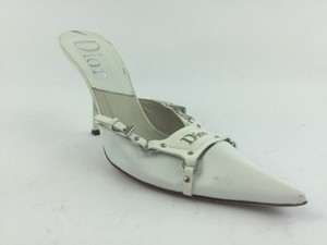 Dior Pointed Toe Mule white Mules