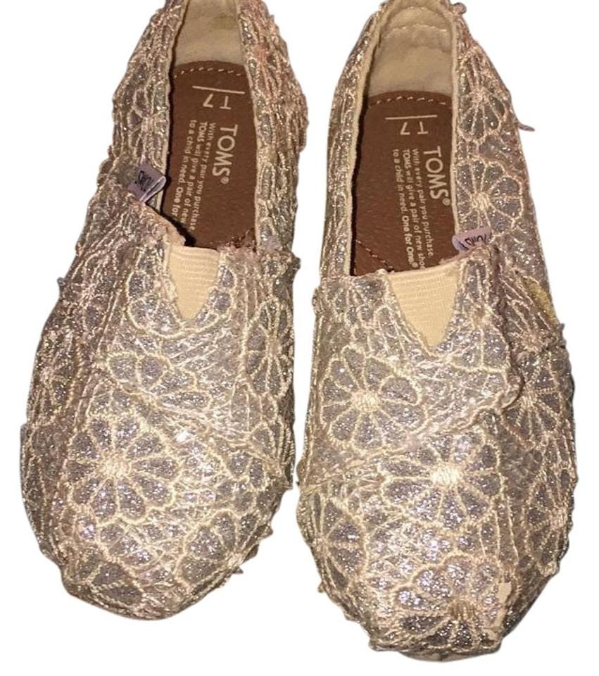 Used Toms Shoes Flats